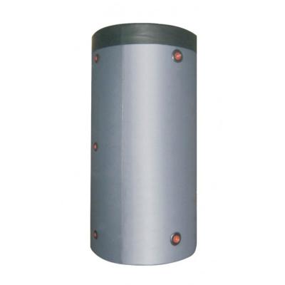 Теплоаккумулирующая емкость из нержавеющей стали с нижним теплообменником в Утеплителе 1000 л.