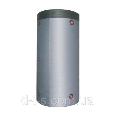 Теплоаккумулирующая емкость из нержавеющей стали с двумя теплообменниками в Утеплителе 1000 л.