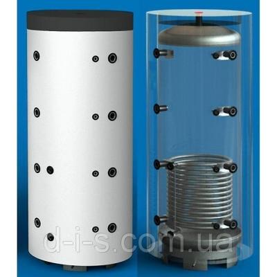 Теплоаккумулирующая емкость из углиродистой стали с нижним теплообменником в Утиплителе 3500 л.