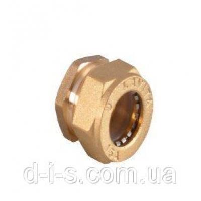 Заглушка никелированная DISPIPE BS20x3/4 (W)N